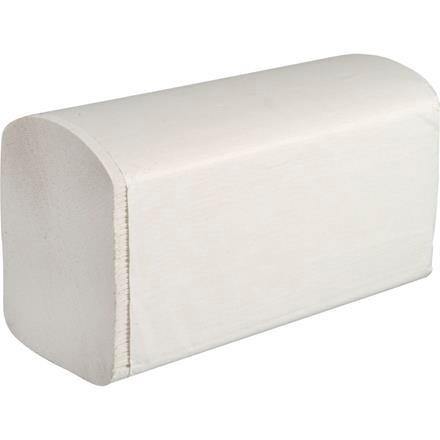 Håndklædeark Care-Ness Excellent 2-lags hvid Bredde 22 cm | Længde 32 x 10,5 cm
