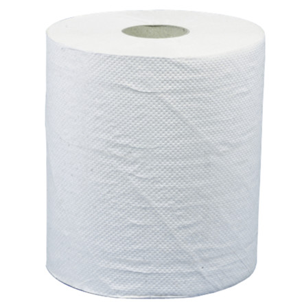 Håndklæderulle Care-Ness Nature 1-lags med hylse natur midi 19,30 cm | 300 meter