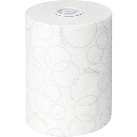Håndklæderulle, Kimberly-Clark Kleenex, 2-lags, 100m x 19,8cm, Ø15cm, hvid