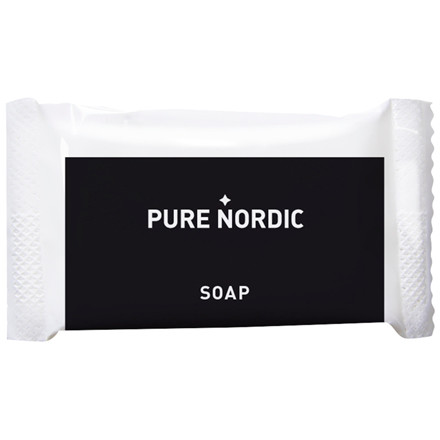 Håndsæbe, Pure Nordic, sort, plast, 12 g