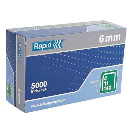 Hæfteklammer Rapid 140/6 - 5000 stk i æske