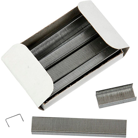 Hæfteklammer - Størrelse 6/4 - Bredde 6 mm - 10 x 1000 stk.