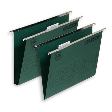 Hængemapper Elba Vertic file grøn FC V-bund