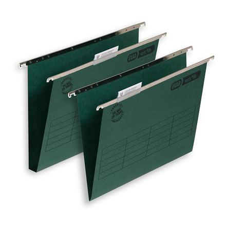 Hængemapper Elba Vertic folio grøn A4/30mm