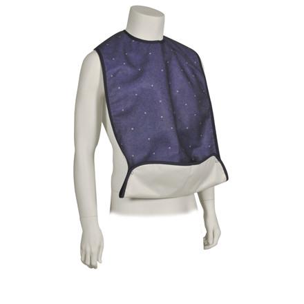 Hagesmæk, Abena, med justerbar lomme og trykknap, 45x90 cm