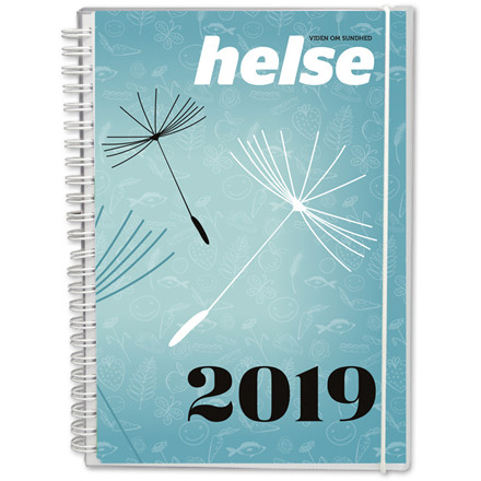 Mayland Helse kalender 2019 A5 15 x 21 cm - 19 2260 00