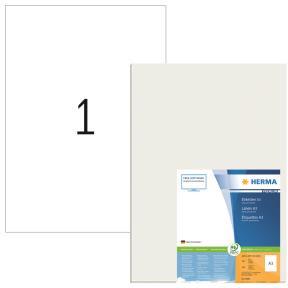 HERMA A3 labels white 297x420 paper Herma Premium A3 100 pcs.