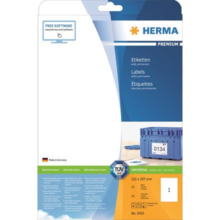 HERMA Herma etiket Premium 210x297 (25)