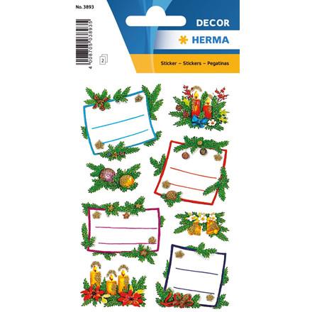 HERMA Herma stickers Decor julegaveretiket jul (2)