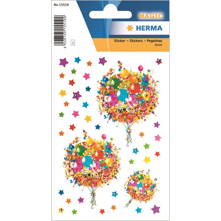 HERMA Herma stickers Magic blomsterbuketter (1)