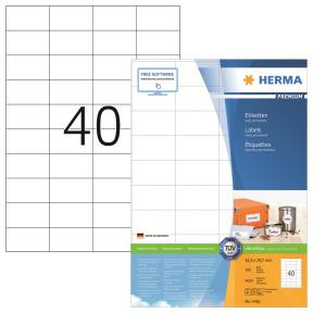 HERMA Labels white 52,5x29,7 Herma Premium A4 4000 pcs.