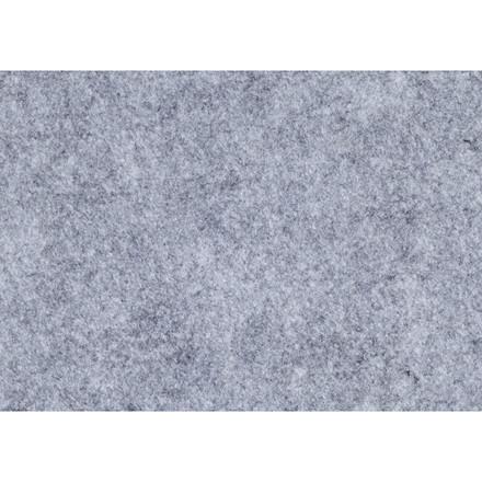 Hobbyfilt A4 21 x 30 cm tykkelse 1,5 - 2 mm grå meleret - 10 ark