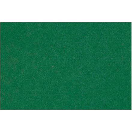 Filt 3mm tyk ark 42 x 60 cm | mørk grøn