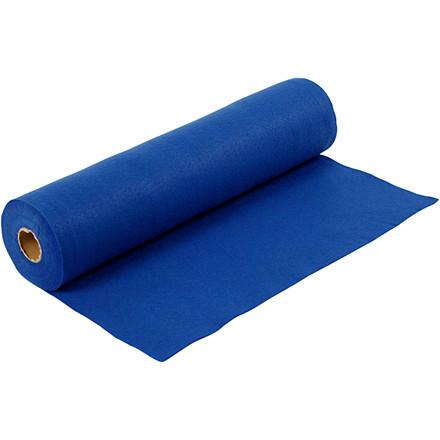 Hobbyfilt bredde 45 cm tykkelse 1,5 mm blå | 5 meter
