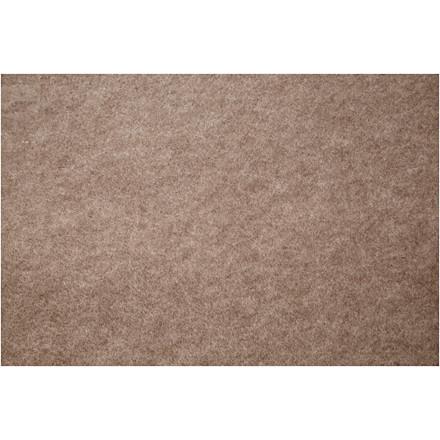 Hobbyfilt, B: 45 cm, tykkelse 1,5 mm, grå beige, meleret, 5m