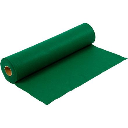 Hobbyfilt bredde 45 cm tykkelse 1,5 mm grøn | 5 meter