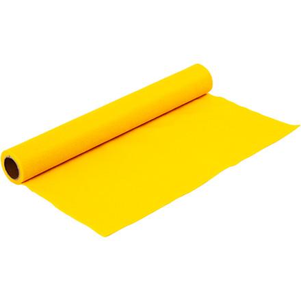 Hobbyfilt - Bredde 45 cm - tykkelse 1,5 mm - gul - 1 m