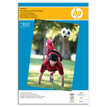 HP - A3 Advanced Glossy Foto Papir 250 gram - 20 ark