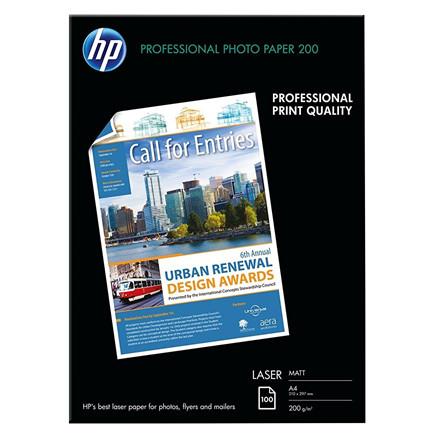 Printerpapir HP A4 Laser Professional Business matte papper 200g