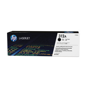 HP Color laserjet 312A  black toner cartridge