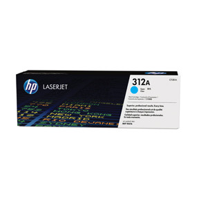 HP Color laserjet 312A cyan toner cartridge