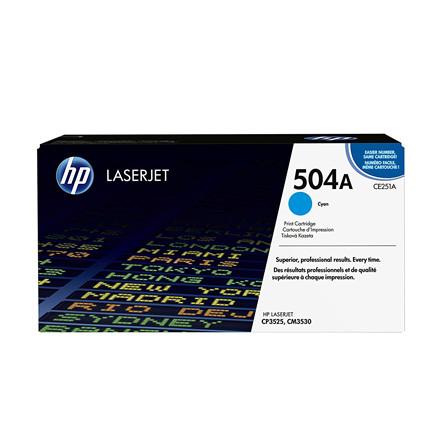 HP Color LaserJet CE251A cyan toner 7K