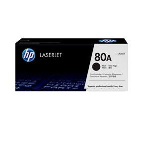 HP LaserJet 80A black toner cartridge