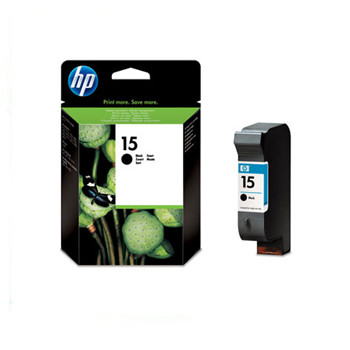 HP No15 black ink cartridge