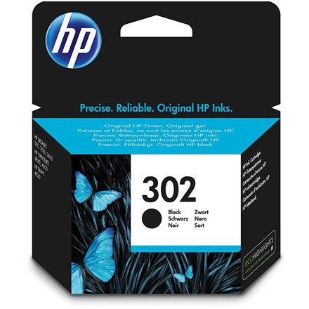HP No302 black ink cartridge