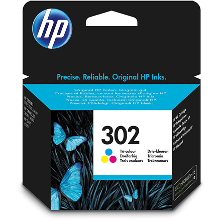 HP No302 color ink cartridge