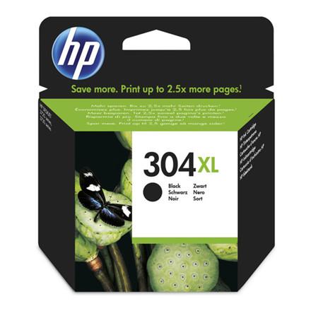 HP No304XL black ink cartridge blistered