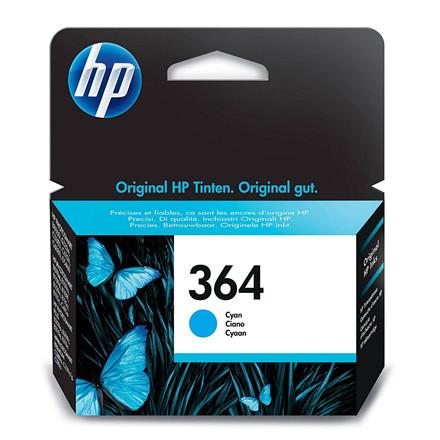 HP No364 cyan ink cartridge