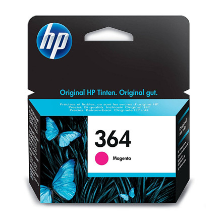 HP No364 magenta ink cartridge