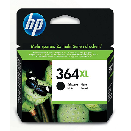 HP 364 XL - Sort blækpatron - CN684EE