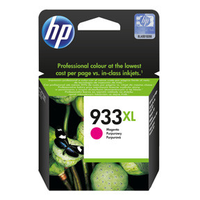 HP No933 XL magenta ink cartridgeblistered