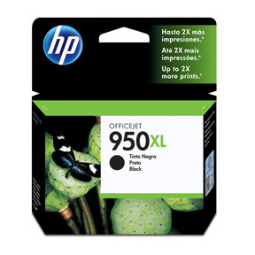 HP No950 XL black ink cartridge