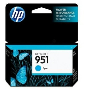 HP No951 cyan ink cartridge