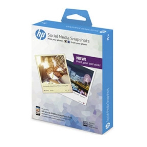 HP - Social Media Snapshots 10 x 13 cm - 25 ark
