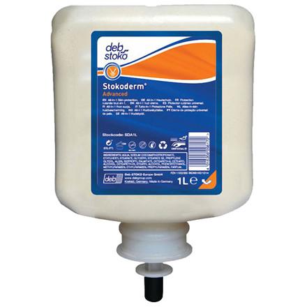 Hudbeskyttelse, Deb Stokoderm Advanced, 1000 ml, med parfume *Denne vare tages ikke retur*