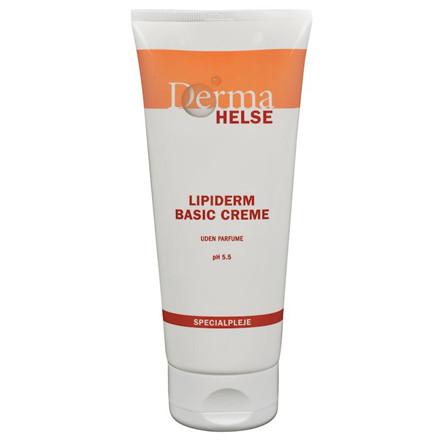 Hudcreme, Derma Helse Lipiderm, uden farve og parfume, 44% fedt, 200 ml