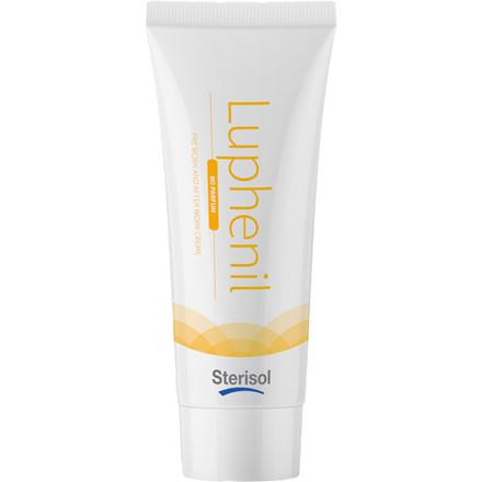 Hudplejesalve, Sterisol Luphenil, uden farve og parfume, 50 ml