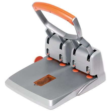 Hulmaskine Rapid HDC 150/4 - i sølv og orange huller op til 150 ark