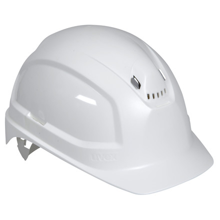 Hvid Sikkerhedshjelm - Uvex Pheos B - Størrelse 51 til 61 cm