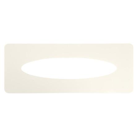 Indlægsplade, til håndklædeark dispenser, hvid,