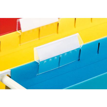 Papirindstik 50 mm til hængemappefaner Esselte Classic - 100 stk. pr. pakke