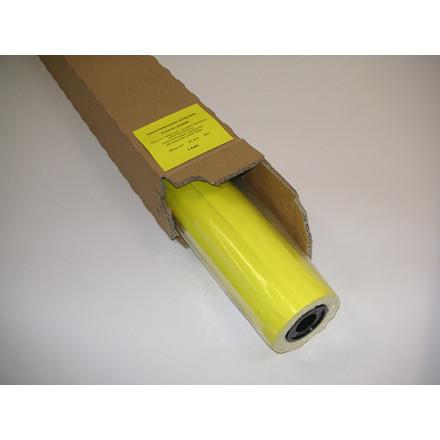 Inkjet papir - Poster Y 100 500 mm x 45 meter Kerne: 50 mm 100 gram - gul