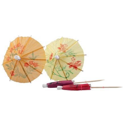 Japanske parasoller 100 mm - 144 stk. i pakken