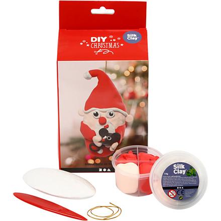 Julemand DIY sæt - Silk Clay