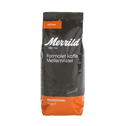 Kaffe Merrild Aroma 500g/ps