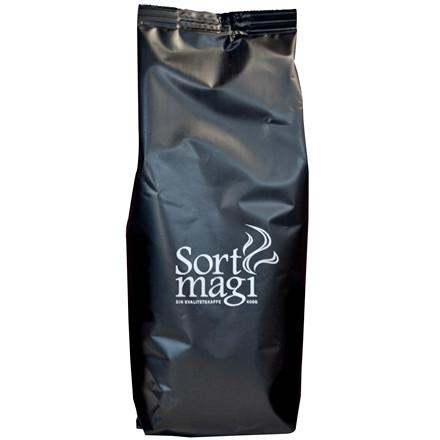 Kaffe Sort Magi - mellemristet og malet - 400 gram